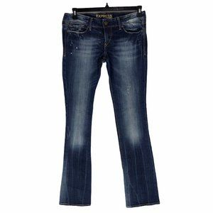 Express 6L Long Womens Stella Barely Boot Jeans